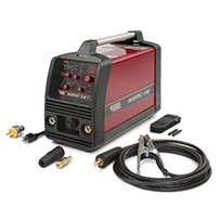 The Invertec V160-T is a small but rugged, high-performance DC TIG and Stick welder designed for alloy fabrication, process piping